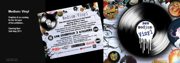 Medium Vinyl Exhibition