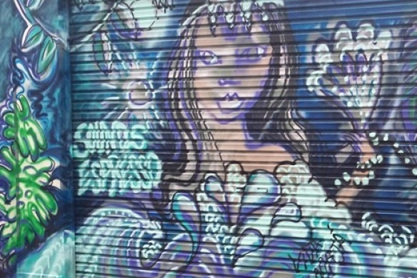 painted in DREAM ALLEY - Sounds Espresso Cafe http://soundsespresso.com.au/about.html